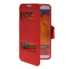 MOONCASE View Window Leather Side Flip Pouch Stand Shell Back ЧЕХОЛДЛЯ Samsung Galaxy Note 3 N9000 Red protective aluminum alloy pc back case for samsung galaxy note 3 n9000 more red black