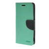 MOONCASE Cross pattern Leather Flip Wallet Card Slot Stand Back чехол для Sony Xperia M4 Green mooncase чехол для sony xperia m4 aqua wallet card slot with kickstand flip leather back hot pink