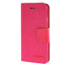 MOONCASE iPhone 6 4.7 , Leather Flip Wallet Card Holder Pouch Stand Back ЧЕХОЛ ДЛЯ Apple iPhone 6 ( 4.7 inch ) Hot pink jeans cloth card holder stand pu leather shell for iphone 6s 6 4 7 inch pink