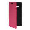 MOONCASE Slim Leather Side Flip Wallet Card Slot Pouch with Kickstand Shell Back чехол для Nokia Lumia 730 Hot pink stand leather case for iphone 6 plus 6s plus 5 5 inch with card slot dark blue