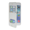 MOONCASE View Window Leather Side Flip Pouch Stand Shell Back ЧЕХОЛ ДЛЯ Apple iPhone 6 ( 4.7 inch ) White mooncase view window leather side flip pouch stand shell back чехол для apple iphone 4 4s blue