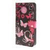MOONCASE Butterfly style Leather Wallet Flip Card Slot Stand Pouch чехол для Huawei Ascend Y600 A04 boxwave huawei g6310 bamboo natural panel stand premium bamboo real wood stand for your huawei g6310 small