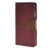 MOONCASE чехол для iPhone 6 Plus (5.5) PU Leather Flip Wallet Card Slot Stand Back Cover Red icarer wallet genuine leather phone stand cover for iphone 6s plus 6 plus marsh camouflage