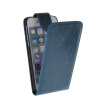 MOONCASE Smooth skin Leather Bottom Flip Pouch ЧЕХОЛ ДЛЯ Apple iPhone 6 ( 4.7 inch ) Blue mooncase smooth skin leather bottom flip pouch чехол для nokia lumia 730 blue