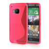 MOONCASE S - Line Soft Flexible Silicone Gel TPU Skin Shell Back ЧЕХОЛ ДЛЯ HTC One M9 Hot pink mooncase s line soft flexible silicone gel tpu skin shell back чехол для htc one m9 blue
