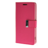 MOONCASE чехол для Sony Xperia Z3 Flip Leather Wallet Card Slot Bracket Back Cover Hot pink mooncase чехол для sony xperia t3 flip leather wallet card slot bracket back cover yellow