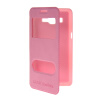 MOONCASE View Window Leather Side Flip Pouch Stand Shell Back ЧЕХОЛДЛЯ Samsung Galaxy Grand Prime G5306W Pink mooncase view window leather side flip pouch stand shell back чехолдля samsung galaxy grand prime g5306w white
