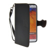 MOONCASE Litch Skin Leather Side Flip Wallet Card Slot Pouch Stand Shell Back ЧЕХОЛДЛЯ Samsung Galaxy Note 3 N9000 Black mooncase leather side flip wallet card slot pouch stand shell back чехол для samsung galaxy e7 black