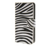 MOONCASE Zebra style Leather Side Flip Wallet Card Slot Stand Pouch чехол для Sony Xperia Z4 Compact (Mini) a07 чехол для sony xperia z4 compact deppa air case red