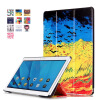 Printed Folio stand PU leather Case for Huawei M2 10.0 Ultra thin Smart Cover for M2-A01L / M2-A01M / M2-A01W 10.1 tablet pc ultra thin smart flip pu leather cover for lenovo tab 2 a10 30 70f x30f x30m 10 1 tablet case screen protector stylus pen