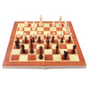 MyMei  Funny Folding Folable Wooden International Chess Set Board Game Funny Game Sports Entertainment twister family board game that ties you up in knots