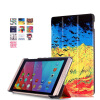 Fashion silk screen MediaPad M2 tablet case size 8.0 only suitable models for 801 w and 803 l huawei tablet case for huawei m2 8 0 pu leather cover for huawei mediapad m2 8 0 m2 801w m2 802l m2 803l 801l tablet funda pantied stand shell