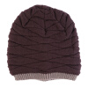 Мужчины Женщины Beanie Knit Cap Ski Hip-Hop Пустой цвет зимы теплая Unisex Wool Hat knit ski beanie fashion winter women men beanie ball wool cuff hat ski cap 2017 warm winter hat new style casual soft