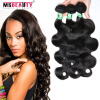 Фото Malaysian Body Wave Virgin Hair 3 Bundles 5A Malaysian Body Wave Virgin Hair Unprocessed Malaysian Human Hair Weave Bundles