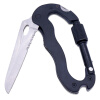 MyMei Multi-function 5 in 1 Outdoor Knife Carabiner Opener Screwdriver Tool Camping Climbing Equipment Survival Tactical Gear