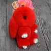 MyMei 2016 New Rex Furs Rabbit Plush Toys Key Ring Keychain Pendant Bag Car Charm Tag Cute Mini Rabbit Toy Doll Real Fur Monster rabbit plush keychain cute simulation rabbit animal fur doll plush toy kids birthday gift doll keychain bag decorations stuffed