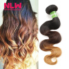 T1b/4/27 Color Free Fast Ship Brazilian Virgin Hair Body Wave 3 Bundles NLW Hair 8A Unprocessed Full Thick Smooth Ombre Extenion like a virgin secrets they won t teach you at business school