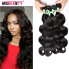 Peruvian Body Wave 4 Bundles 5A Grade Peruvian Virgin Hair Body Wave Msbeauty Virgin Hair Peruvian Body Wave Hair Weave Bundles 4 100% wdx 15 peruvian body wave