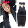 Natural Hair Extension NLW Products 8A Peruvian Virgin Human Straight Hair weaves Unprocessed 3 Bundles for Black Women Smooth free shipping 8a unprocessed virgin peruvian hair 5 bundles body wave hair extension 8 30 natural black color for black women