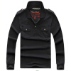Men Dress Shirts Plus Size Casual Solid Thick  Long-Sleeve T-Shirt Fashion Brand Clothing