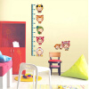 Removable Art Vinyl Quote kid height Wall Sticker Decal Mural Home Room Decor  350044 removable sexy hair spa female face sticker art decor mural design for indroom decoration