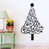 MyMei Christmas Wall Stickers Home Decorations Christmas Present Vinyl Wall Decals For Bedroom Shop Window merry christmas deer snowflake window removable wall stickers