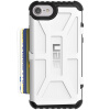 UAG iPhone8 (4,7 дюйма) падение сопротивления Mobile Shell чехол для Apple, iPhone8 / iPhone7 ярого белый auto absorbed shell style dual window leather mobile casing for iphone 7 4 7 inch gold
