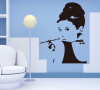 Beautiful Audrey Hepburn Diy Removable Vinyl Art Wall Sticker Decal Mural Decor 350048 dsu details about happy girls wall sticker vinyl decal home room decor quote