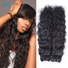 Raw Indian Hair Bundles Ocean Wave Tissage Bresilienne 3PCS Virgin Indian Hair Water n Wavy Human Hair Curly Bundles Afro кеды vans vans va984auvzs80