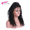 Carina Brazilian Virgin Hair Kinky Curly Full Lace Human Hair Wigs With Natural Hairline For Black Women Free Part new fashion curly human hair full lace