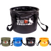 MyMei 20L Collapsible Folding Wash Basin Bucket Water Sink Bowl Pot Outdoor Camping