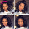 Lace Front Wigs 150% Density Swiss Lace Human Hair Wigs For Black Women 7A Wig Deep Curly Lace Front Human Hair Wigs