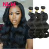 Bouncy Top Quality N.L.W. Products Brazilian Virgin Hair body wave 3 Bundles 8A Unprocessed Free Shipping Full and Thick brazilian formaldehyde free keratin treatment 1000ml repair damaged hair straighten hair best salon products free shipping