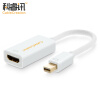 CABLE CREATION Mini DP to HDMI Converter Adapter Mini Displayport 4K HD Apple MacBook Lightning Интерфейс Полученный телевизор Белый CD0009 diamond shaped 3in1 thunderbolt mini dp display port to hdmi dvi vga cable converter adapter for apple macbook air pro mdp