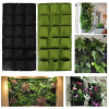 MyMei 9 Pockets Home Ecology Garden Planting Bag Flower Vertical Hanging Wall Green цена и фото
