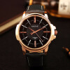Rose Gold Wrist Watch Men 2017 Top Brand Luxury Famous Male Clock Quartz Watch Golden Wristwatch Quartz-watch Relogio Masculino hot sale brand men quartz watch famous fashion male clock rose gold watches men business wristwatch relogio masculino lz2048