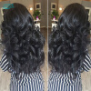 Bohemian Loose Wave Virgin Hair 3 Budles Cheveux Bresilien Angie Queen Real Virgin Hair Bohemian Loose Curly Hair Weave