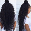 Brazilian Hair Kinky Curly Full Lace Wigs With Baby Hair 7a top quality heat resistant synthetic lace wigs kinky curly synthetic lace front wigs with baby hair around for black women