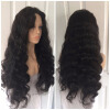 130% Density Brazilian Virgin Human Hair Glueless Full Lace Wigs For Black Women with Baby Hair free part silky straight full lace human hair wigs brazilian virgin lace front wigs for black women dhl free shipping
