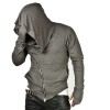 Fashion Men Unbeatable Arm Warmer Diagonal Zip Mens Assassin Creed Hoodie assassin creed altair player 7 pvc action figures low price toys for boys birthday gift with box ck0003