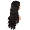 Long Wavy Glueless Full Lace Human Hair Wigs Natural Color Curly Hair 8 colours colorful curly hair party cosplay long wavy wigs