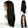 Wholesale Cheap Brazilian Human Hair Glueless Full Lace Wigs With Baby Hair For Black Women 8a hotsale silver grey human hair wigs cheap glueless brazilian lace front wigs human hair with baby hair for white black women