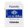 Toshiba (TOSHIBA) 64G FlashAir четвертого поколения беспроводной локальной встроенной У3 карта памяти SDXC Class10 карта памяти other 3 3 64 sm 64m