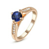 Yoursfs@ Wholesale Direct Classic CZ Diamond Engagement Wedding Ring  Gold Plated Prong Setting Make Up Finer Ring Jewellery