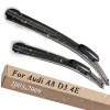 Wiper Blades for Audi A8 D3 4E 24&23 Fit Slider Arms 2003 2004 2005 2006 2007 2008 2009 new auto car led daytime running lights drl yellow turn signal fog lamp for audi q7 2006 2007 2008 2009