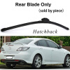 Wiper Blades for Mazda 6 Mk2 24&16 Fit Hook Arms 2008 2009 2010 2011 2012 wiper blades for mazda 3 24