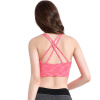 Women Yoga Vest Shakeproof Sport Bras Solid Athleisure Padded Yoga Bra Tops Fitness Activity Underwear Strip Lady Bra b bang new 2015 women sports bra push up breathable bra for running fitness workout gym underwear crop tops for women 6 colors