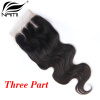 Nami Hair Brazilian Body Wave Virgin Hair Lace Closure 4x4 Free Middle Three Part 8-20 100% Human Hair Free Shipping серьги венец им бирюза
