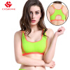 Gym High Quality Bandage Sports Bra Women Fitness Running Bra Tops Exercise Brand Yoga Vest Shockproof Sport Tank Tops women s dri fit push up yoga running sports bra