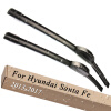 Wiper Blades for Hyundai Santa Fe 26&14 Fit Hook Arms 2013 2014 2015 2016 2017